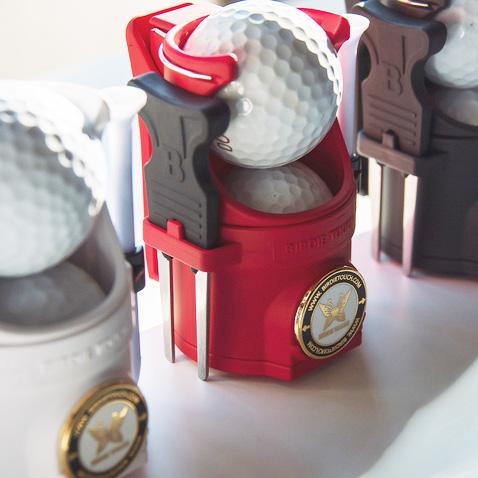 エジソンゴルフのラウンドホルダー(ゴルフボールケース)